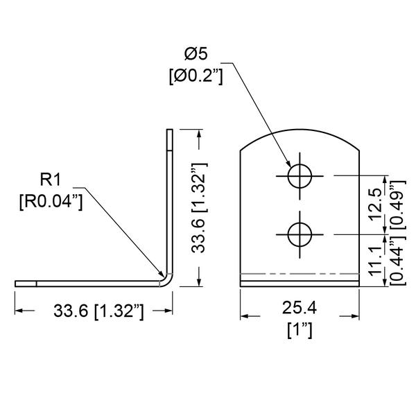 B0700-kulmarauta-mittakuva