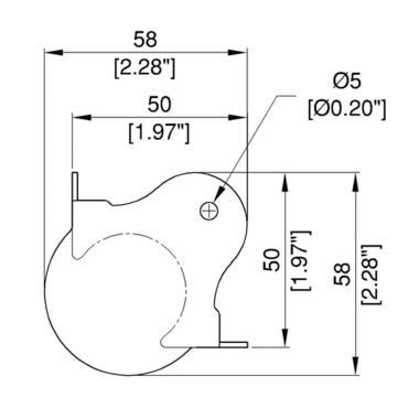 C1352-pallokulma-mittakuva