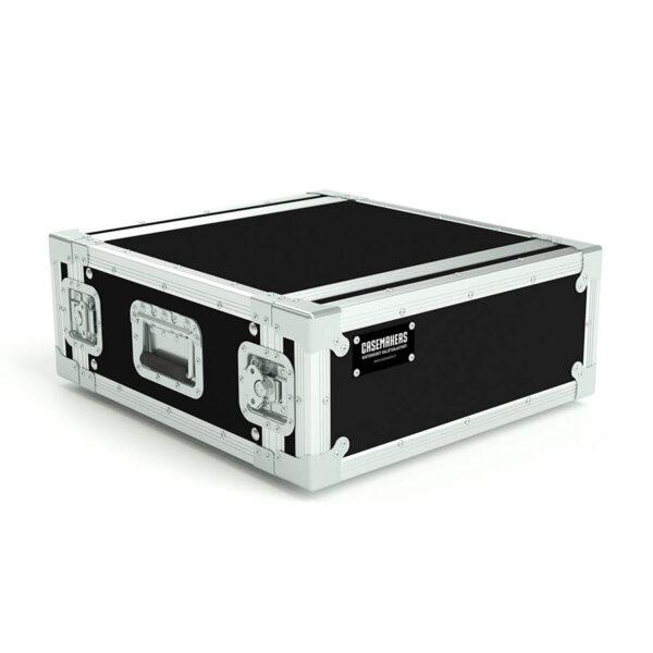 4U rack case lids closed