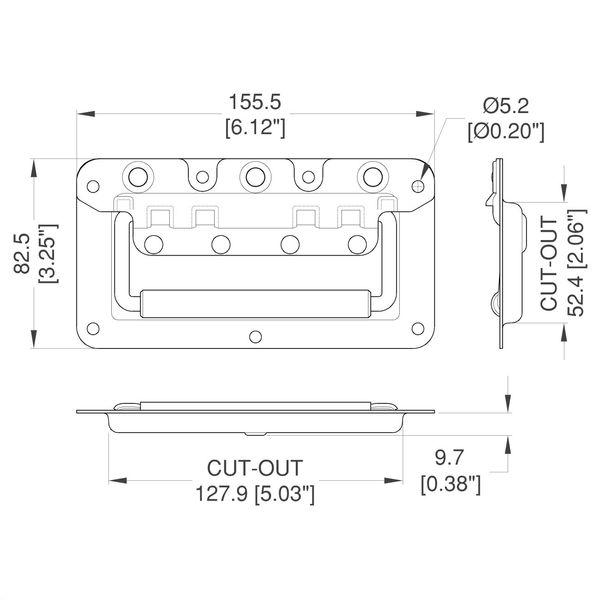 H7148-kapea-kantokahva-mittakuva