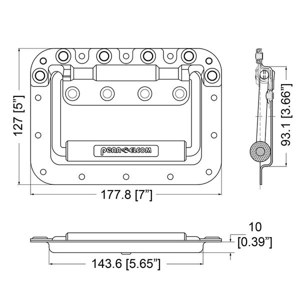 H7165-nostokahva mittakuva