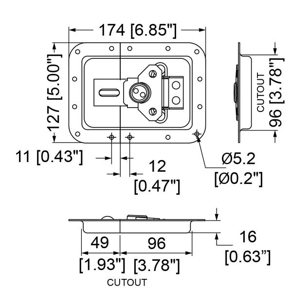 L935-530PD-riippulukolle-tekninen-kuva