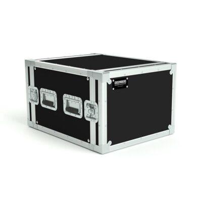 8U rack case with 50cm sleeve