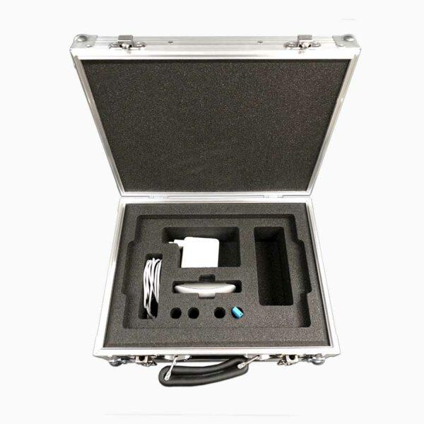 Apple Macbook Pro flight case with accessories
